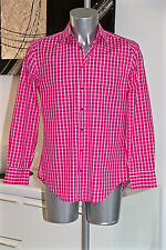 luxurious shirt pink THIERRY MUGLER double cabled yarn size 39 (S) MINT