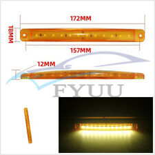 20 Pcs 24V 12LED Car Trailer Lorries Side Lighting Marker Lights Clearance Lamps