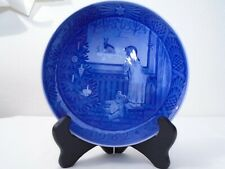 1982 Royal Copenhagen Christmas Plate Waiting for Christmas Mint Condition