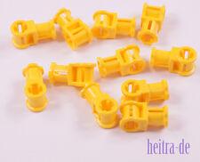 Baukästen & Konstruktion LEGO Bau- & Konstruktionsspielzeug Lego 2x Technic Verbinder #1 Kreuzachse 32013 gelb ege370