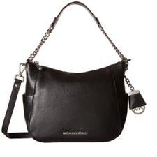NEW! MICHAEL KORS Chandler Black Leather Large Convertible Shoulder Bag