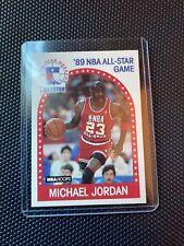 MICHAEL JORDAN 1989 NBA HOOPS 1989 NBA ALL STAR GAME# 21 HOF Rare
