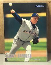 1996 FLEER TIFFANY #578 SCOTT SANDERS SAN DIEGO PADRES