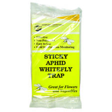 Seabright Laboratories Sticky Aphid Whitefly Trap Yellow Sticky Insect 15 Pack