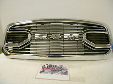 Factory OEM Genuine MOPAR Dodge RAM MFJ 1500 Chrome Laramie Grille Grill NEW
