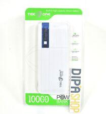 Batteria Esterna Power Bank Portatile TekOne 10000mah Smartphone Tablet Blu hsb