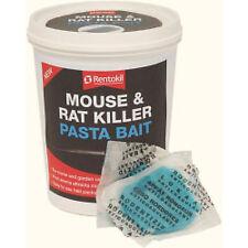 Rentokil Mouse & Rat Killer Pasta Bait 400g Indoor Outdoor Rodent Pest Control