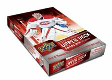 2015-16 UPPER DECK serie 1 Hockey pasatiempo caja (CONNOR MCDAVID RC)