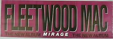 Very Rare Fleetwood Mac Mirage 1982 Vintage Orig Music Record Store Promo Poster