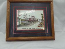 Balboa Family Zone Newport Beach, CA by Ted Crane 1983 Framed Matted Art Print