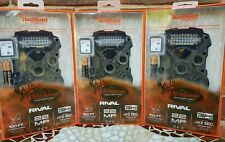 3 PK  WILDGAME INNOVATIONS RIVAL 22 TRUBARK LOW GLOW TRAIL GAME DEER CAMERAS