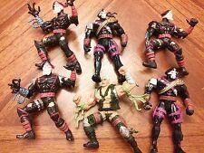 Set of Hasbro 1996 Action Figures Lot G.I. Joe Extreme Lt. Stone Iron Klaw Cobra