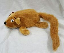 'Marlo The Marmot' Grunting Big Plush Dog Toy From Plush Puppies Deluxe Crazies