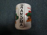Walt Disney World Grandma Mug Authentic Disney Four Parks One World