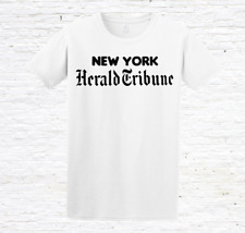 New York Herald T-Shirt (Breathless / À bout de souffle / Jean Seberg)