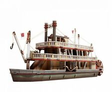 Cardboard model kit. Wild West. Steamboat. 3D Puzzle. 1/56 scale.