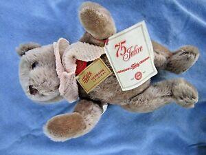 HERMANN TEDDY-BEAR 75th YEAR LIGHT BROWN 14 INCH w/ ALL TAGS