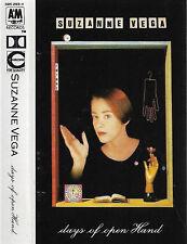SUZANNE VEGA DAYS OF OPEN HAND CASSETTE ALBUM Folk Rock, Synth-pop
