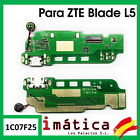 Flex Load For ZTE Blade L5 Cable Plate Micro USB Microphone Connector Vibrated