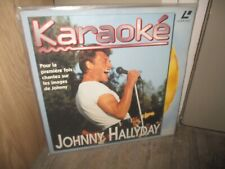 Johnny Hallyday-Ancien Laser Disc , Karaoké-1994