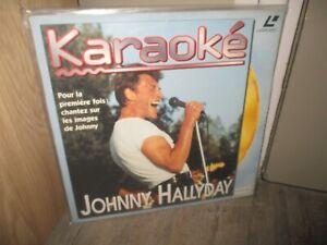 Johnny Hallyday-Ancien laser disc,Karaoké-1994