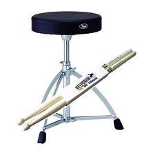 Pearl D-730S Drumhocker Drummersitz + Keepdrum 5A Drumsticks