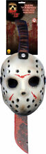 Morris Costumes New Friday 13Th Complement Jason Machete Mask One Size. RU8785