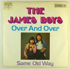 "7"" Single - The James Boys  - Over And Over - S1419 - washed & cleaned"