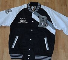 BOSTON Springfield Classic RAW BLUE XL School Letter Captain Jacket Coat basebal