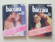 "2 CORA ""baccara"" 6 Romane ältere Hefte Romantik,Frau,Liebe,Hochzeit,Urlaub,Mode"