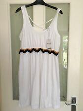 NEXT White Summer Dress Size 14 Petite