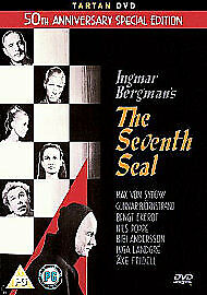 The Seventh Seal (50th Anniversary Special Edition) [1957] [DVD] new and sealed