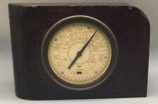 Antique Taylor 1927 Stormoguide Wood Brass, Some Wear To Wood. Not Tested. (M276