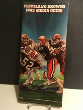1983 Cleveland Browns NFL Media Guide : Clay Matthews & Dick Ambrose