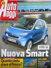 Auto Oggi n°30 2006 Seat Ibiza 1.9 TDI Sport - Test Alpina BMW D3 Opel Mer [P45]