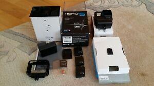 GoPro Hero 5 Black sehr wenig gebraucht 4K HD