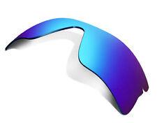 Replacement Lenses for Oakley Radar Range Sunglasses Anti-Scratch Blue Mirror