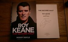The Second Half SIGNED Roy Keane HB Book Autobiography Manchester United 1st/1st
