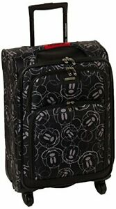 American Tourister Disney Softside Luggage with Spinner Wheels, Mickey Mouse Scr