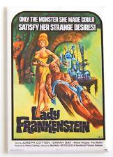 Lady Frankenstein FRIDGE MAGNET (2 x 3 inches) movie poster horror