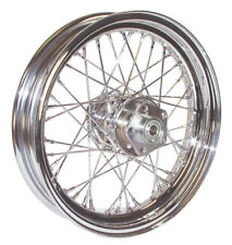 "40 Spoke Front Wheel Chrome 21""x2.15"" Harley Davidson XL Sportster 2000-2007"