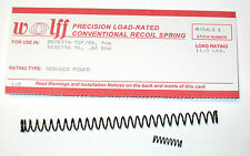 WOLFF™ 11 lbs REPLACEMENT RECOIL SPRING reduced power fits BERETTA 92 FS/B 9mm
