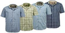 Camisas casuales de hombre de algodón y poliéster