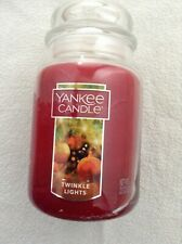 Yankee candle 'Twinkle Lights' large jar