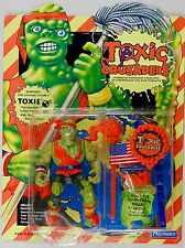 PLAYMATES Toys TOXIC CRUSADERS Toxie MOC dented