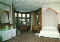 DUKES BEDROOM, HOLKER HALL LANCASHIRE POSTCARD - UNUSED