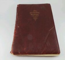 Robert Burns Birthday Book w/ Color Illustrations by H. J.Dodson Printed England