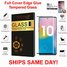 4-Pack+Full+Cover+Tempered+Glass+Protector+F+Samsung+Galaxy+Note+10+10+PLUS