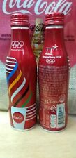 Coca-Cola ALUMINIUM BOTTLE  2018 Full Water 250ml Pyeong Chang 2018 Olympic