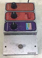MU-TRON PHASOR II - vintage Musitronics Mutron phaser effect pedal